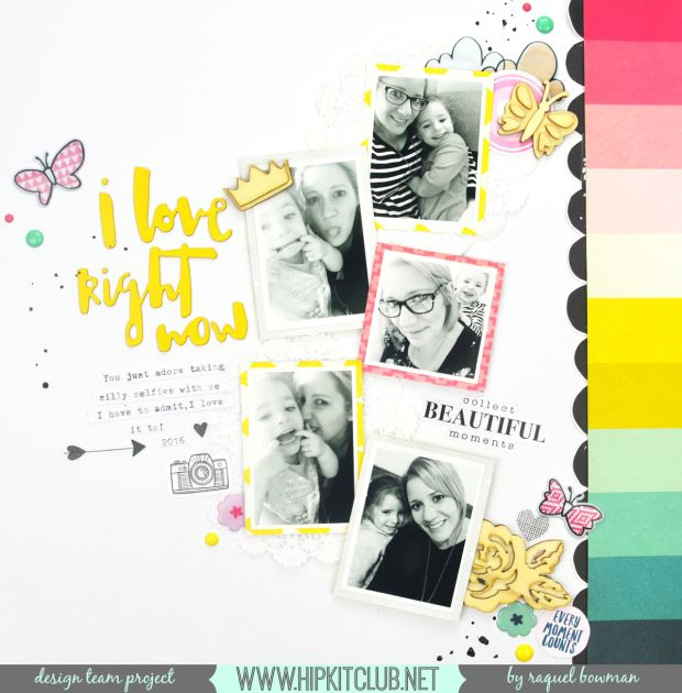 Hey everyone, Raquel here today sharing a new layout using the August Hip Kits. I just love these kits, they are so bright and fun and contain some of my favourite brands and products. My focus for…