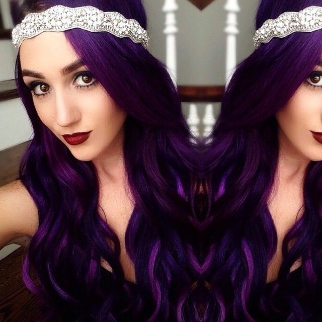 17 Best Ideas About Purple Hair On Pinterest Red Purple Hair Dye Dark Purp Of Maroonish Purple