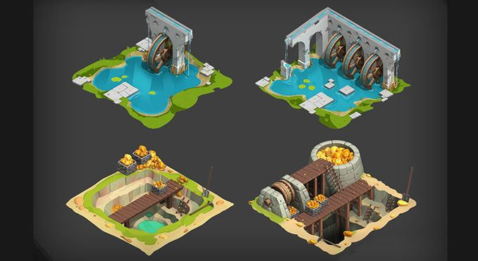 D Cube Building Games