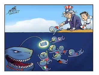 痛いニュース(ノ∀`) : 【画像】 AIIBの風刺画が秀逸だと話題に - ライブドアブログ