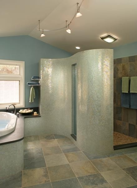 78 best images about an open concept bathroom freaky or for Perfect master bathroom