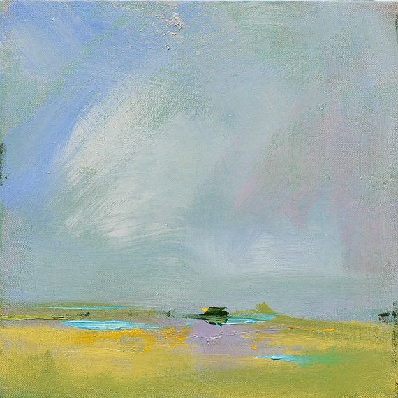 "New Contemporary Abstract Landscape Painting by Jacquie Gouveia on Etsy, $190.00 ""Kodachrome"""