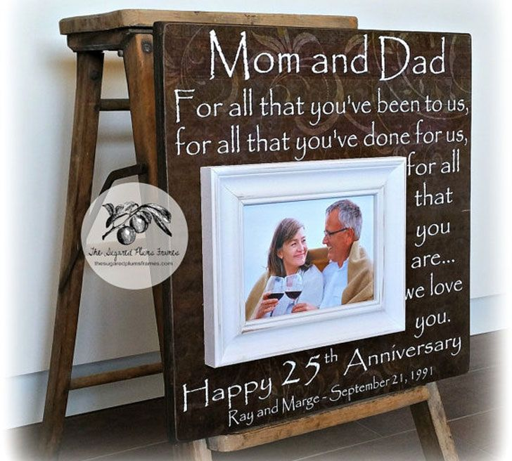 50 Best Anniversary Gifts For Parents Gift Ideas For Parents Anniversary Gift Gif In 2020 25 Wedding Anniversary Gifts Anniversary Gifts Creative Anniversary Gift