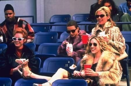 sex and the city - baseball game outfits