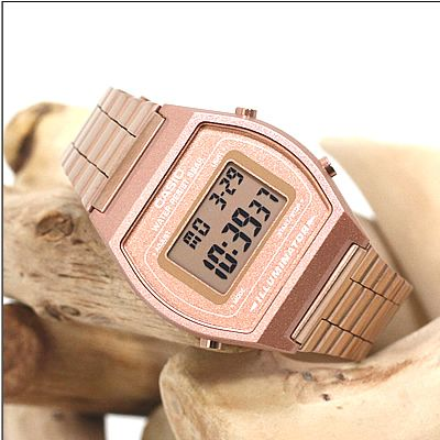 CASIO Collection Rose Gold Stainless Steel Bracelet