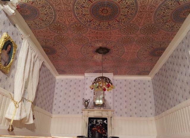 blue sky wallpaper for ceilings uk