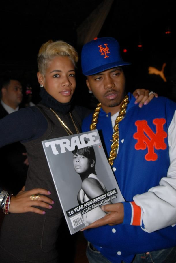 Nas and Kelis in Happier Times