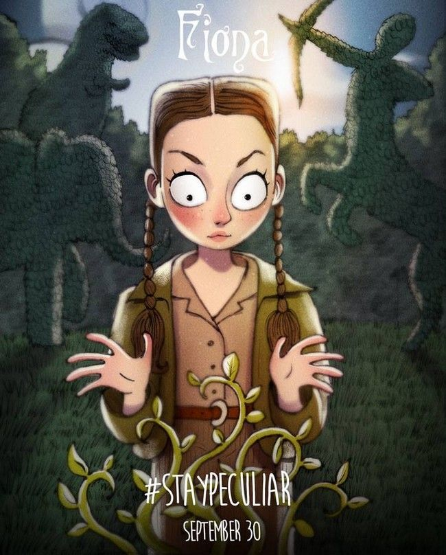 Miss Peregrine de Tim Burton par Andrew Tarusov : Fiona