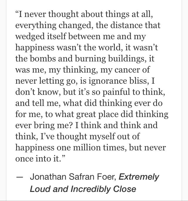 Jonathan Safran Foer, Extremely Loud and Incredibly Close #quotes