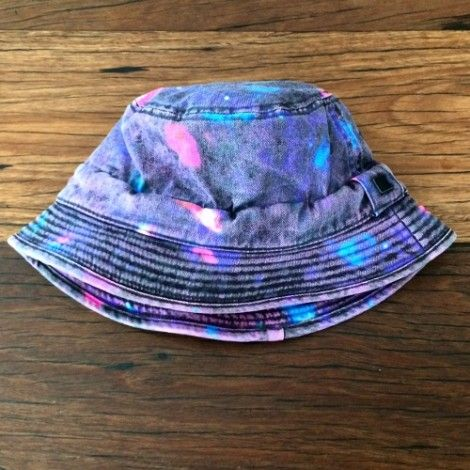 acid wash treated bucket hat custom made hats by thesaucesuppliers.com / hat supplier / custom bucket hats / hat manufacturer