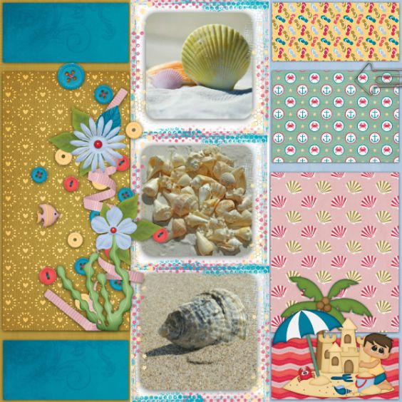 Layout created using Beach Bound Bundle http://store.gingerscraps.net/Beach-Bound-BUNDLE-by-Heather-Z-Scraps.html and Pockets of Life 3 templates http://store.gingerscraps.net/Pockets-of-Life-TEMPLATES-Vol.-3-by-Heather-Z-Scraps.html