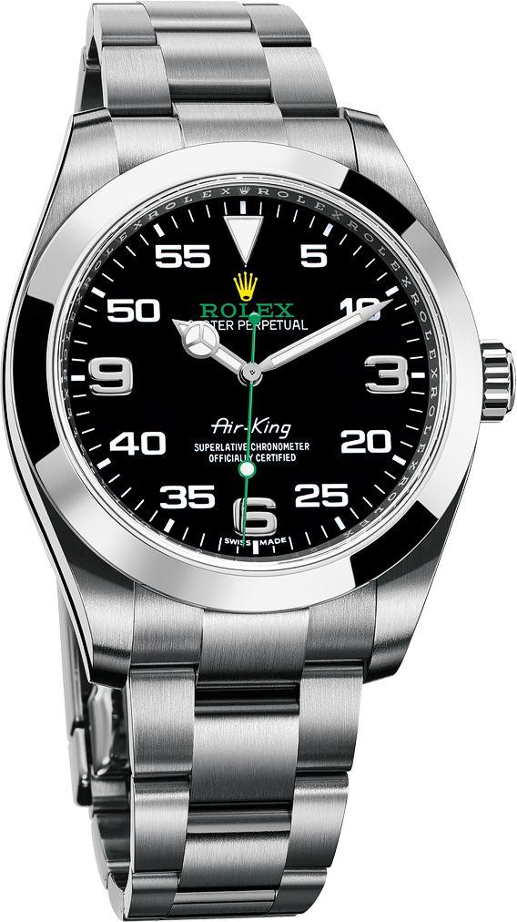 La Cote des Montres : La montre Rolex Oyster Perpetual Air-King - L'héritage aéronautique de la Rolex Oyster originelle