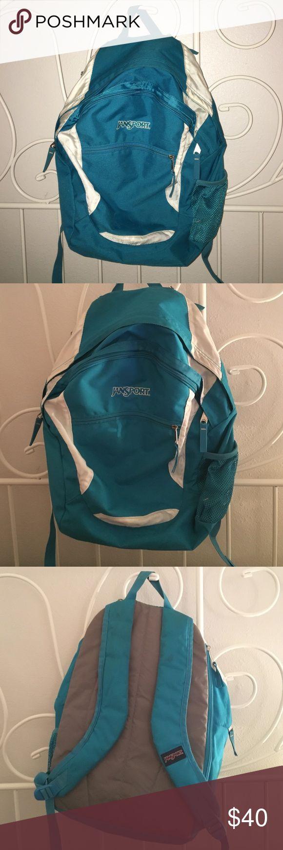 JANSPORT BACKPACK JANSPORT blue and white backpack! Jansport Bags Backpacks