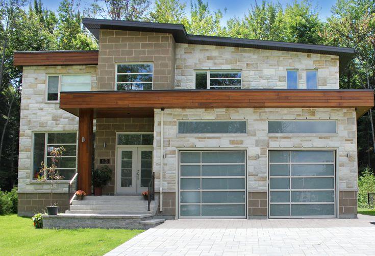 les 25 meilleures id es de la cat gorie portes de garage moderne sur pinterest portes de. Black Bedroom Furniture Sets. Home Design Ideas
