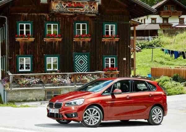 BMW 2-Series Active Tourer Reds