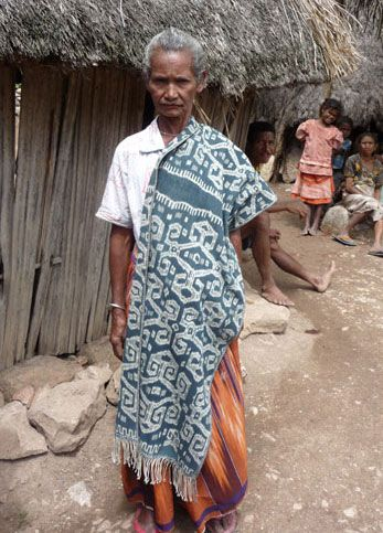 Timor has more diversity of traditional textiles than other islands where Threads of Life works