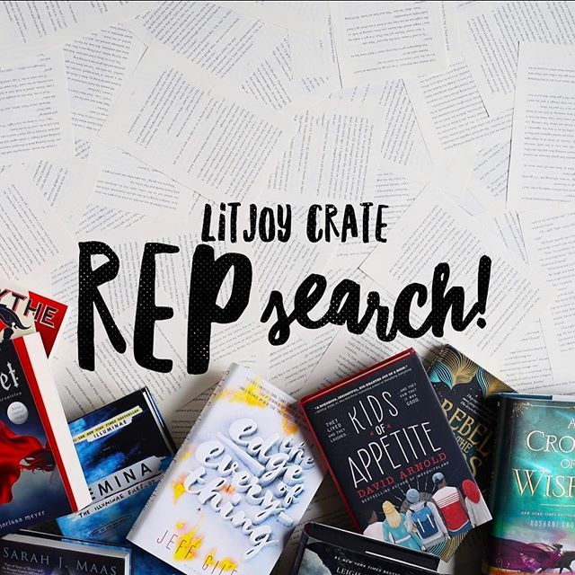 REMINDER! We are doing our Spring rep search right now! See below for all the details 😏 . 💜 For spring, we are looking for YA REPS, MIDDLE GRADE REPS, and PICTURE BOOK REPS! We have changed a few details for our reps so please READ ALL OF THE DETAILS so that you know what we are looking for. . ❤️💛💚💙💜 How to apply for our rep search: . 1. Repost ANY of the three images above on your Instagram feed. . 2. Use the hashtag #litjoyrepsearch. . 3. Tell us which Crate you would like to rep…
