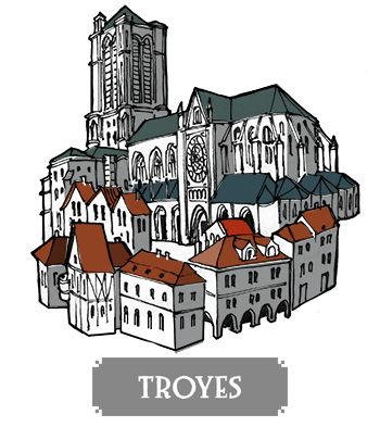 Troyes - boardgame Pélotone1903