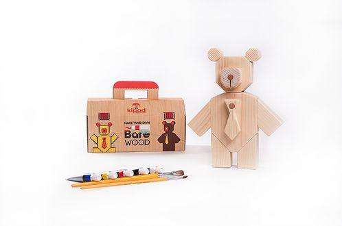 Hape küchentraum ~ Create your own wooden bear. kipod bare wood kids pinterest