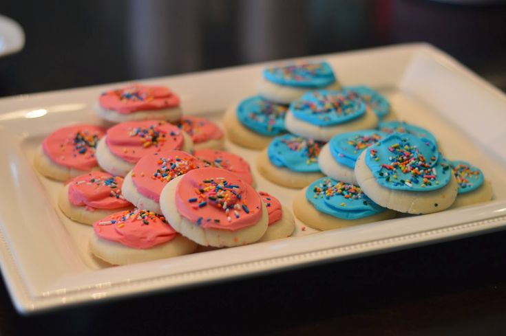 baby gender reveal party food