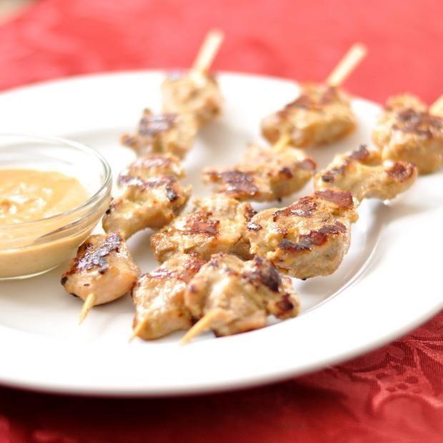 Chicken Recipes : Chicken Satay Recipe