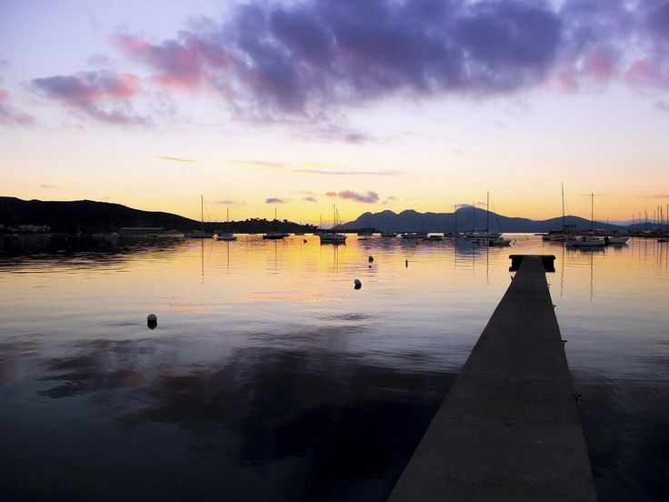 Another Puerto Pollensa sunrise. 7am!