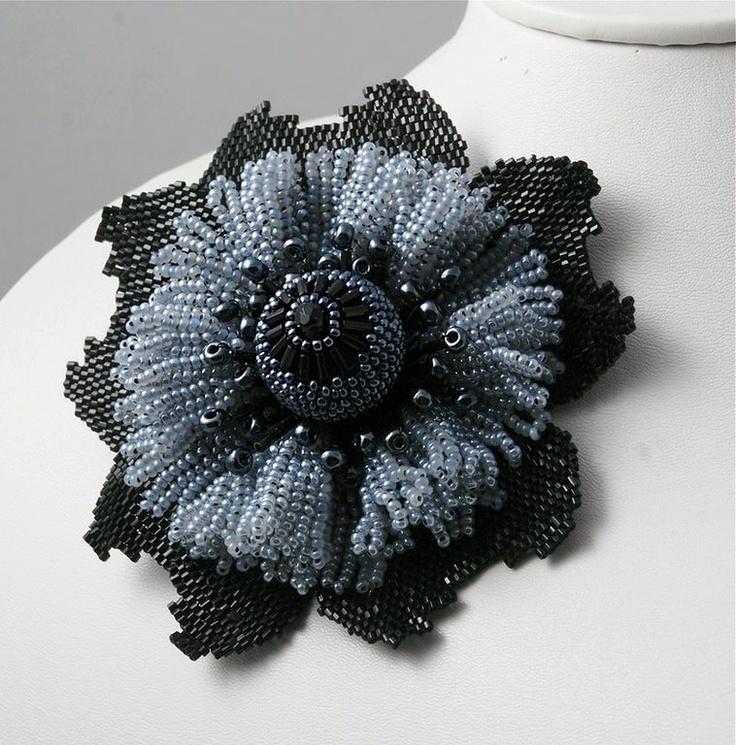 Beaded Flower #beads