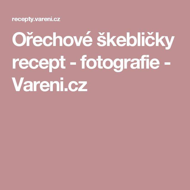 Ořechové škebličky recept - fotografie - Vareni.cz
