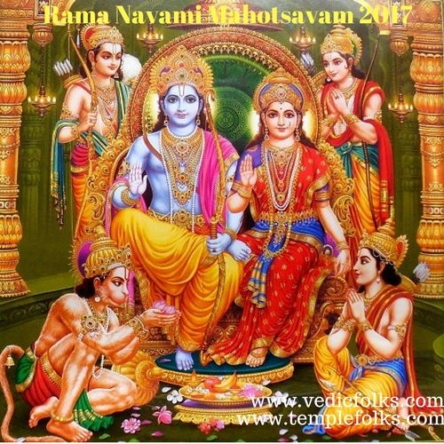 Rama Navami Mahotsavam is helps to get rid of sins, past life bad Karma and impending dangers.It helps to get rid of complications during pregnancy.It helps to maintain a good relationship, cooperation and unity with people around us.