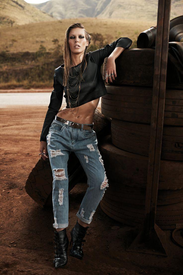 #inverno2014 #fall #winter #citylimits #fashion #editorial #moda #brasil #ontheroad #couro #jeans #sexy #estilo #lavibh