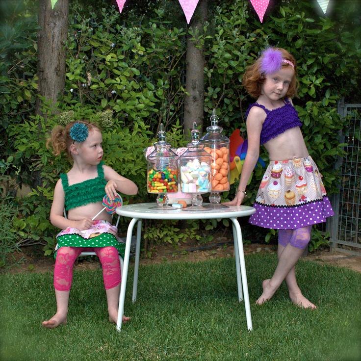 Missflamingo Muffin Skirts