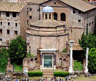 Romano Impero: TEMPIO DI ROMOLO
