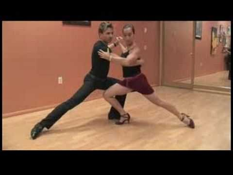 Dancing the Argentine Tango : Modern Argentine Tango Steps - YouTube