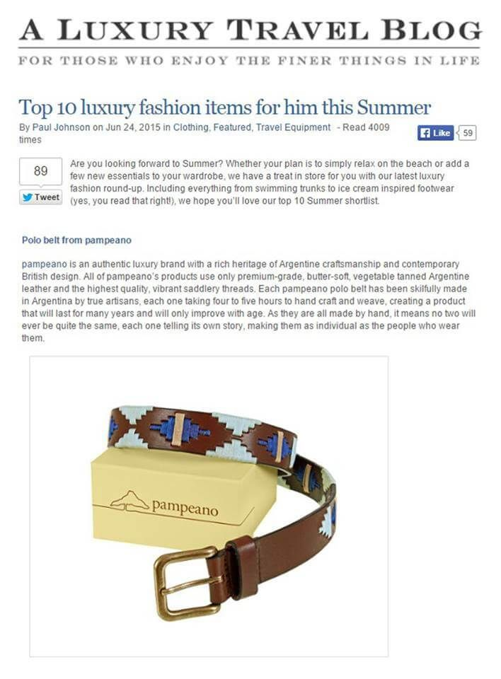 A Luxury Travel Blog   pampeano