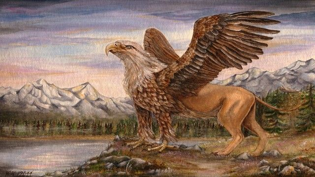 The Griffin is a legendary creature with the body, tail, and back legs of a…