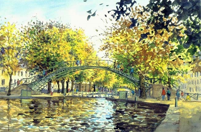 Paris « Canal Saint-Martin »