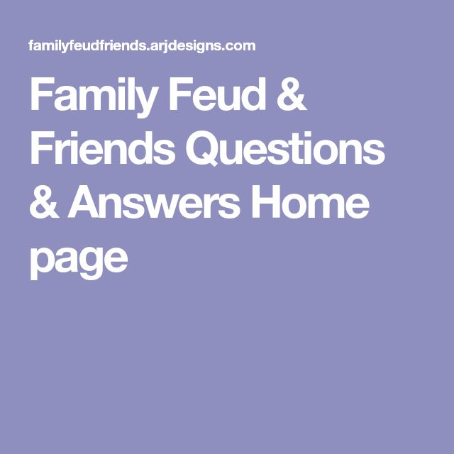 The  Best Family Feud Board Game Ideas On   Family