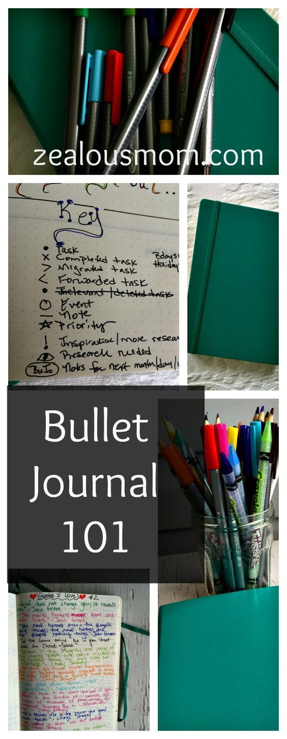 A 101 post for people just getting started with the Bullet Journal system. Everything you need to know to start your BuJo journey! #BulletJournal #BuJo #planning