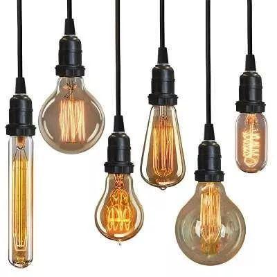 lampada edison retro vintage 110v - 8 modelos disponivel