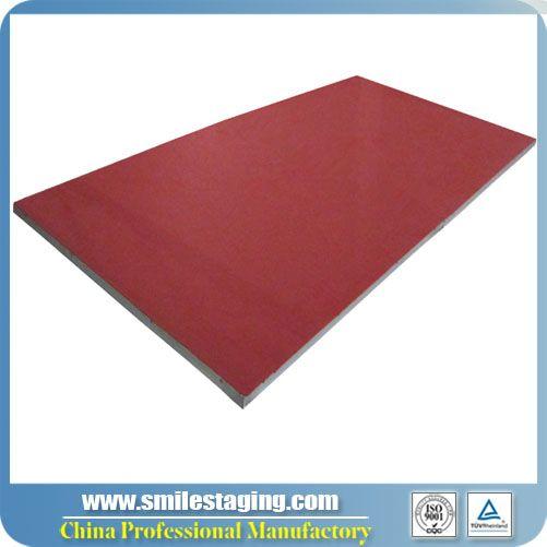 1.22M x 2.44M Red Carpet Finish Stage Platform