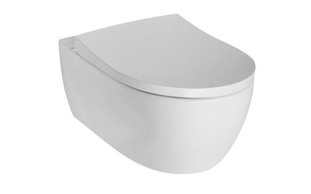 Sphinx 345 wc pack wandcloset diepspoel Rimfree met slimseat closetzitting softclose, wit - S8P00120000