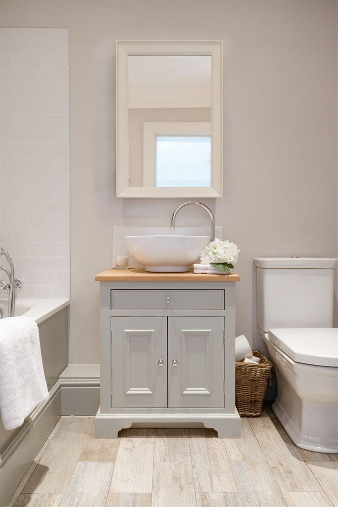 Awesome Neptune Bathroom Washstands   Chichester 640mm Oak Countertop Washstand
