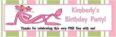 love pink panther cute idea think pink a pink panther birthday party ...