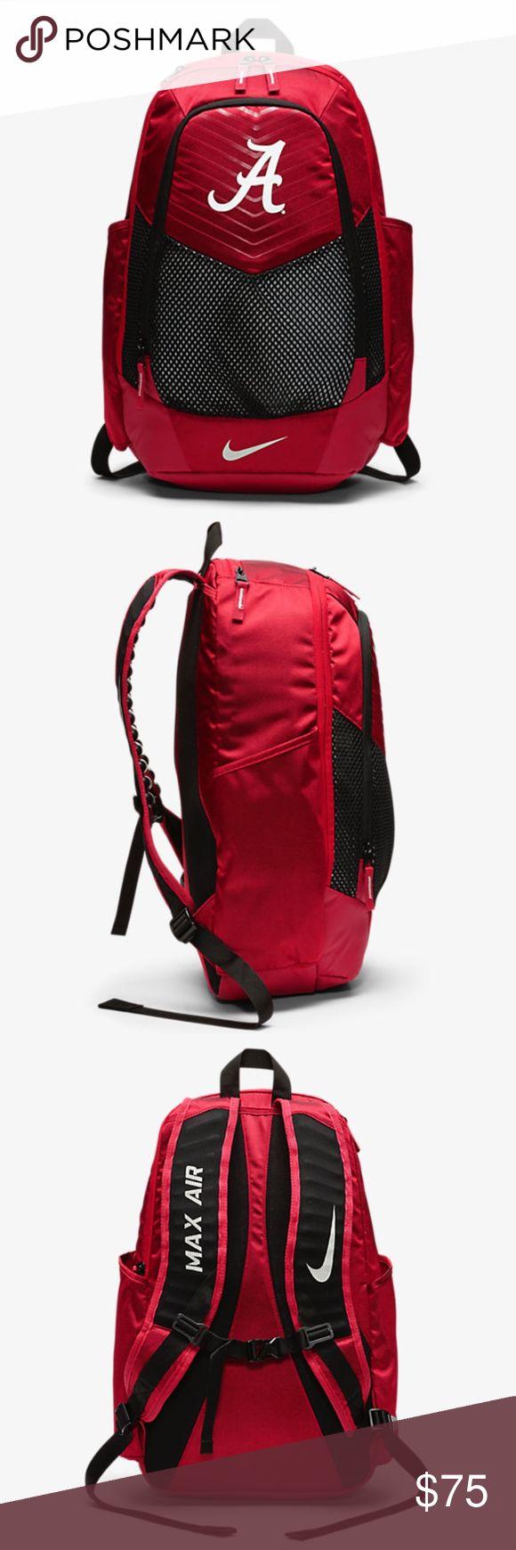 c0aeb4500b8 ALABAMA CRIMSON TIDE - Nike VAPOR POWER Backpack NWT ... NIKE Max Air ...