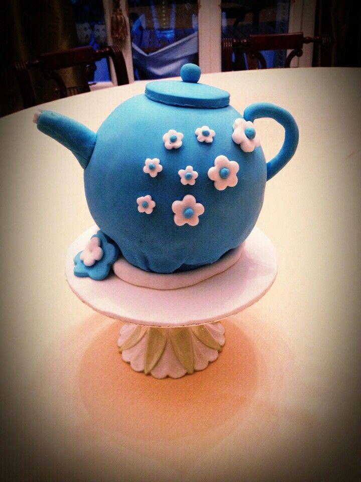 Teapot#sugrapste#birthday-Cake