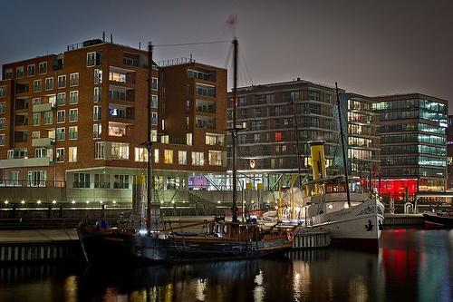 Die Schaarhörn in der neuen Hafen-City Hamburg