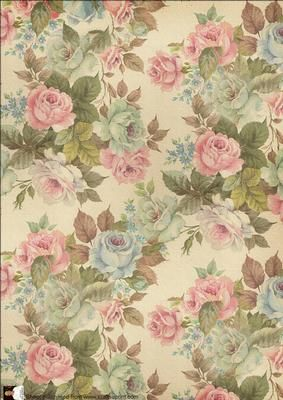 TAPESTRY ROSE VINTAGE BACKING PAPER on Craftsuprint designed by Val Ramon - LOVELY VINTAGE ROSES,LOOKS LIKE THEY ARE ON A TAPESTRY. GREAT TO MAKE BOXES, AND FOR ALL YOUR VINTAGE CARDS.