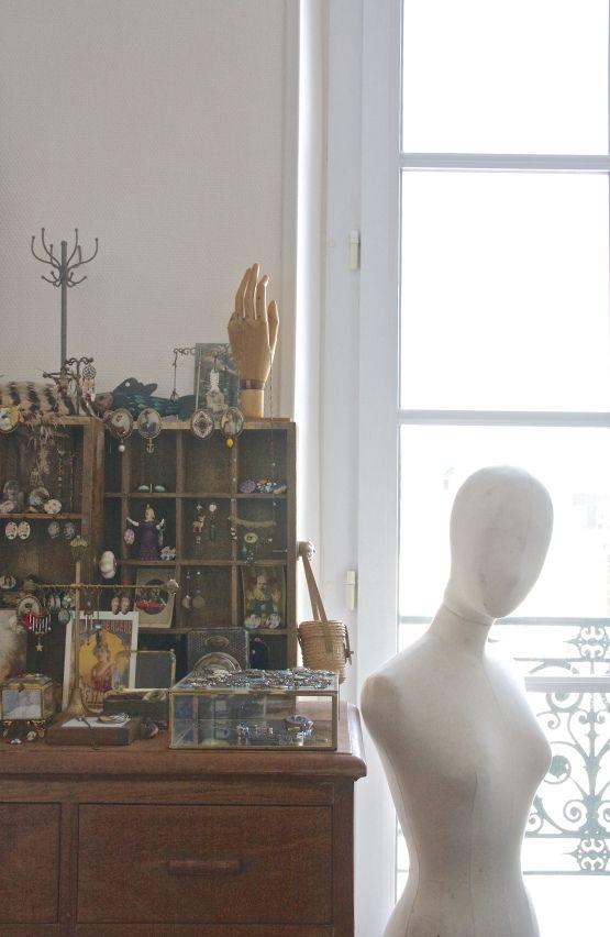 Atelier des bijoux Dame Pivoine