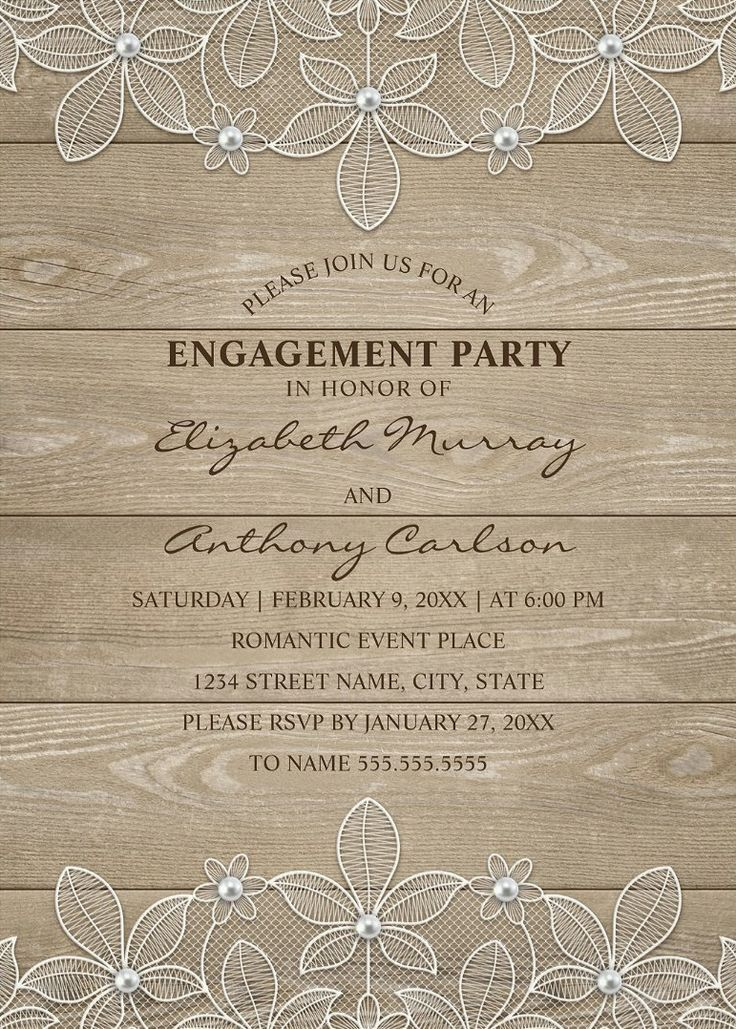 64 best Engagement Party Invitations images on Pinterest ...