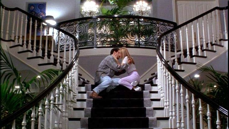 Elegant Foyer Quotes : Dream staircase from the movie clueless elegant foyers